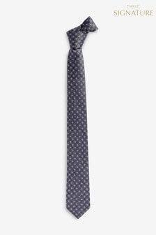 Signature Woven Geo Silk Tie