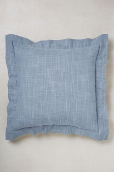 Textured Oxford Edge Cushion