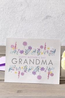 "Grandma"" Muttertagskarte"