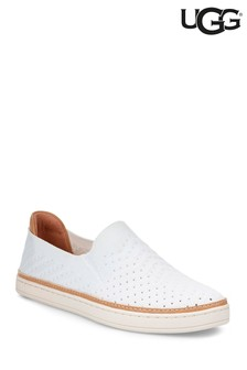 UGG® Sammy Chevron White Slip-On Shoe