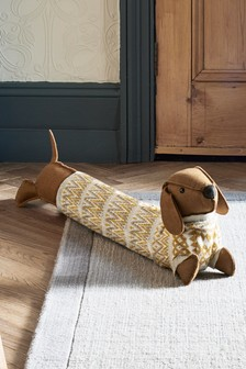 Don the Dachshund Draught Excluder