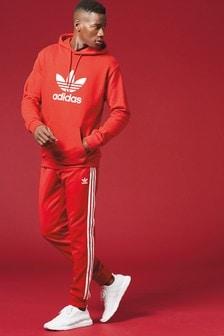 Sweat à capuche adidas Originals avec logo trèfle à enfiler