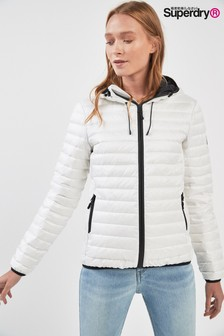 Superdry White Core Down Jacket