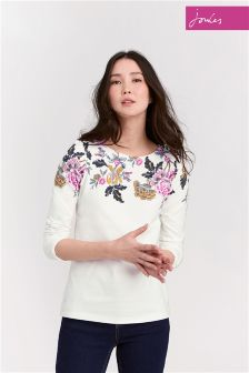Joules Printed Harbour Jersey Top