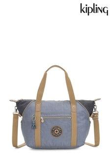 Синяя сумка с рисунком Kipling