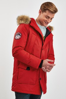 Superdry Red Everest Parka Coat