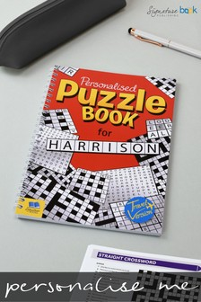 Personalised Puzzle Book A5 Travel Version Puzzle Book by Signature Book Publishing