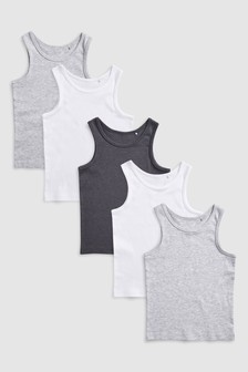 5 Pack Vests (1.5-16yrs)