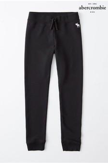 Abercrombie & Fitch Black Core Fleece Leggings