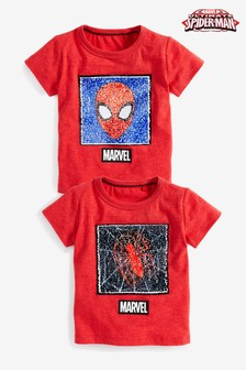 Spider-Man™ Flippy Sequin T-Shirt (9mths-8yrs)