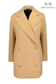 Armani Exchange Camel Tailored Jacket