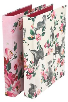Cath Kidston® Badgers And Friends Ring Binders