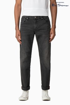 Ben Sherman Washed Black Straight Jean