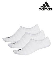 adidas Adult White Trainer Socks Three Pack