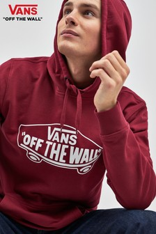 Vans Kapuzensweatshirt mit Off The Wall-Logo, rot