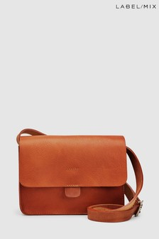 Mix/Kate Sheridan Textured Leather Tab Bag