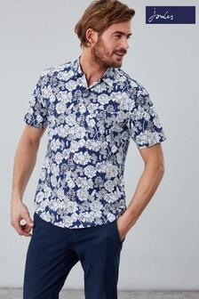 Joules Black Revere Short Sleeve Shirt