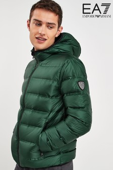 EA7 Green Padded Jacket