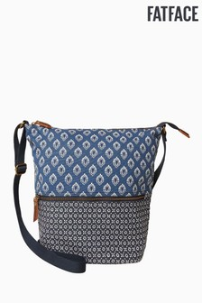 FatFace Tulip Geo Woven Tia Cross Body Bag