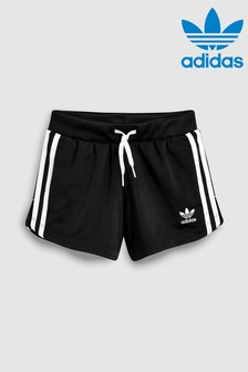Czarne szorty adidas Originals 3-Stripe