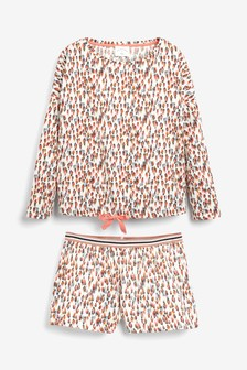 Cotton Blend Short Set