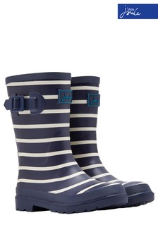 Joules Boys Navy Stripe Welly