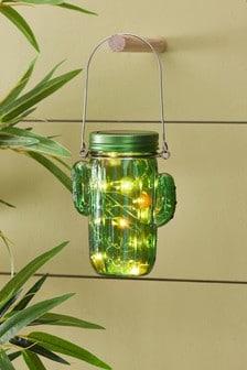 Solar Cactus Lantern