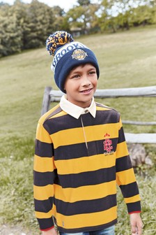 Stripe Rugby Shirt (3-16yrs)