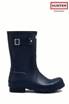 Hunter Navy Original Short Welly