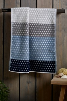 Blocked Stripe Towel