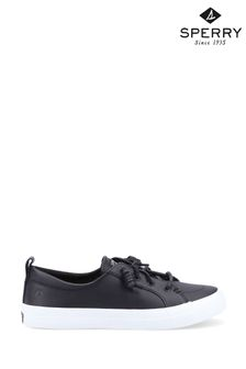 Sperry Black Crest Vibe Leather Shoes