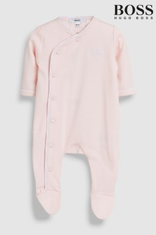 BOSS Baby Pink Sleepsuit