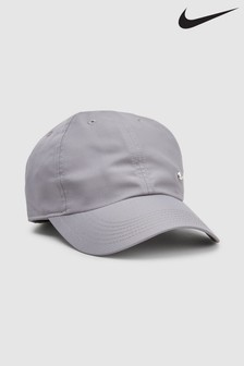 Nike Kids Grey Swoosh Cap