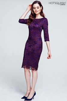 HotSquash Purple The Lace Dress