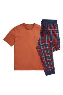 Cosy Check Pyjama Set
