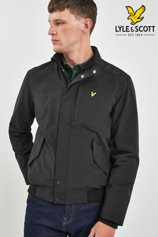 Lyle & Scott Black Panelled Jacket