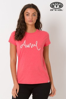 Animal Red Reel Me In Graphic Tee