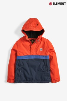 Element Kids Navy/Orange Barrow Jacket