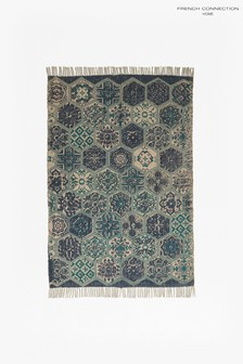 French Connection Tangier Tile Rug
