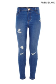 River Island Bright Blue Olympic Buzzy Jean