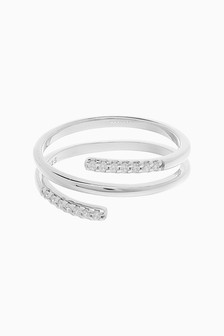 Pave Ladder Ring