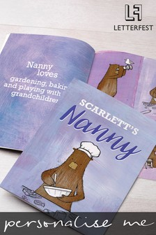Personalised Grandma Story Book by Letterfest