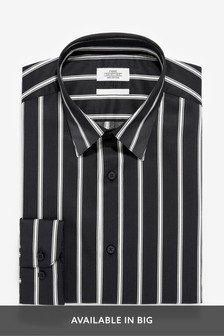Slim Fit Stripe Shirt