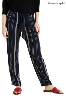 Phase Eight Blue Keiko Stripe Trouser