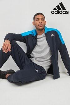 חליפת ספורט מפליז של adidas Legend דגםBadge Of Sport בצבע דיו
