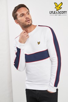 Lyle & Scott Sweatshirt in Patchwork-Optik