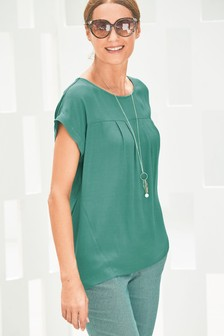 95b649c5444 Ladies Green Tops | Womens Green Blouses | Next Official Site