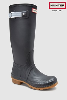 Hunter Mens Black Original Seaton Tall Welly