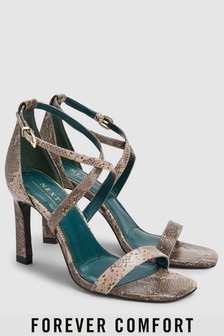Cross Over Strap Sandals