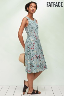 FatFace Green Karen Harvest Floral Dress